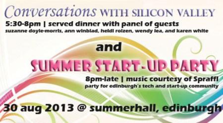 Girl geek Scotland summer party 2013 banner