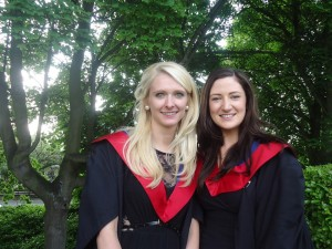 Emily Alford and Donna Gibbons at graduation 2013