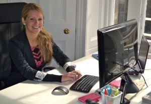 Jennie Stamp at work